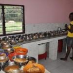de nieuwe keuken!