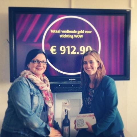 Ondernemende studenten zamelen 1200 euro in!