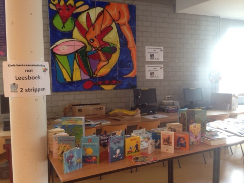 't Gouden Ei doneert ruim €160 met slotfeest Kinderboekenweek!