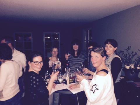 Woonkamereditie wijnproeverij groot succes!