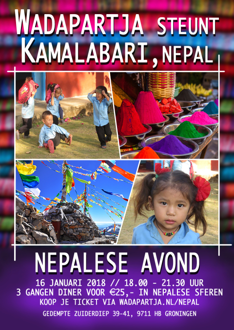 Dineren voor Nepal!